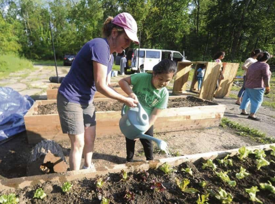 giving2grow south hills interfaith ministry grantee gardening