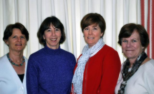 giving2grow founding board members Jennifer H McDowell, Joyce Salls, Lea E Anderson, Lisa Turbeville Markowski
